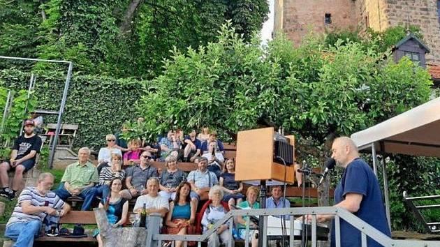 Železnické hudební léto otevřel Jan Burian.