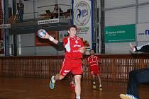 JAN VOCÁSEK se po pauze zaviněné zraněním objevil v domácím utkání proti Zlínu.