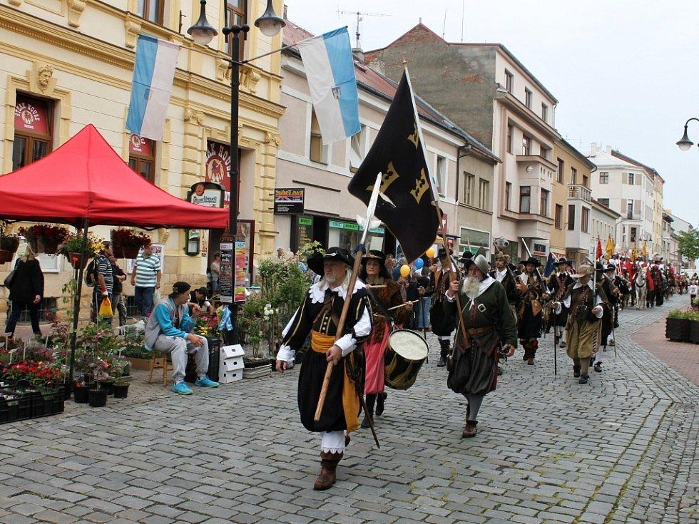 Valdštejnské dny v Jičíně.