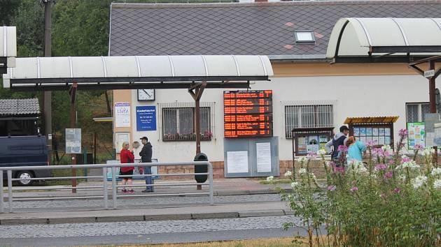 Z novopackého autobusového nádraží.