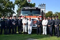 Sbor dobrovolných hasičů Železnice v sobotu 12. září slavil 135 let od svého založení. Foto: Jaromír Šímek