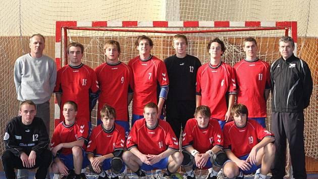 Úspěšné družstvo Lepařova gymnázia představujeme na společném snímku.