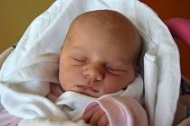Tereza Filková se narodila 29. září s mírou 49 cm a váhou 3,43 kg. Z prvního přírůstku do rodiny se radují Lucie Šádková a Petr Filek z Nové Paky.