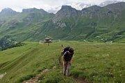 Z cesty do Dolomit.