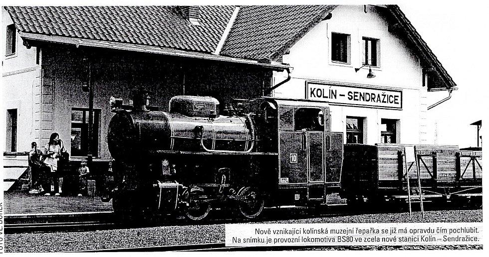 Drážky Kolín.