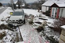 Dopravní nehoda u Jívan.