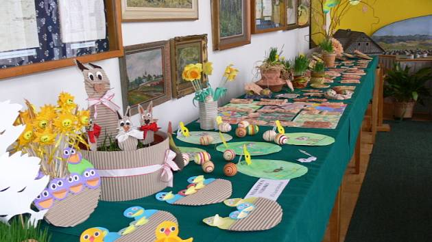 Z bělohradské velikonoční výstavy v roce 2009.
