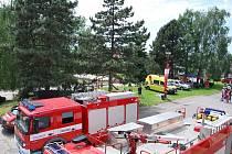 Od hořických profesionálních hasičů.