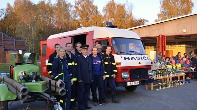 Z činností hasičů SDH Holovousy.