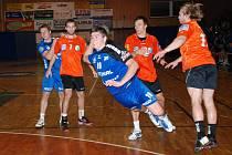 Jan Vocásek (na snímku při střelbe) překonal brankáře Frýdku–Místku celkem sedmkrát. Zejména jeho tři góly v rozmezí mezi šestou až osmou minutou byly pro hosty doslova smrtící.