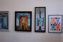 Výstava Bucharových obrazů.