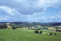 Pohled na jedinečnou krajinu.