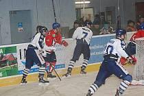 Hokej - extraliga juniorů Liberec - Pardubice 4 : 5.