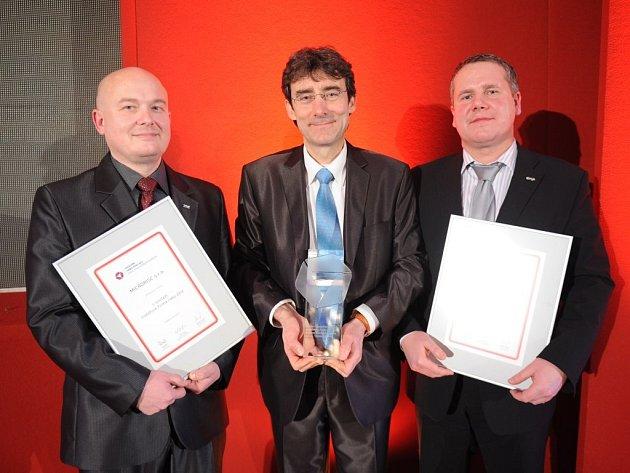 Vítězové celostátního kola soutěže Vodafone Firma roku 2012