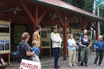Muzeum přírody Český ráj na Prachově při jedné z četných akcí, které pořádá.