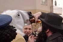 Masopustní oslavy ve Valdicích.