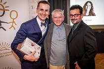 Martin Vitvar, oceněný dárce kostní dřeně za rok 2018.