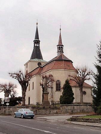 Kostel sv. Martina v Libuni.