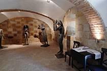 Lapidáruim: výstava soch Olbrama Zoubka.