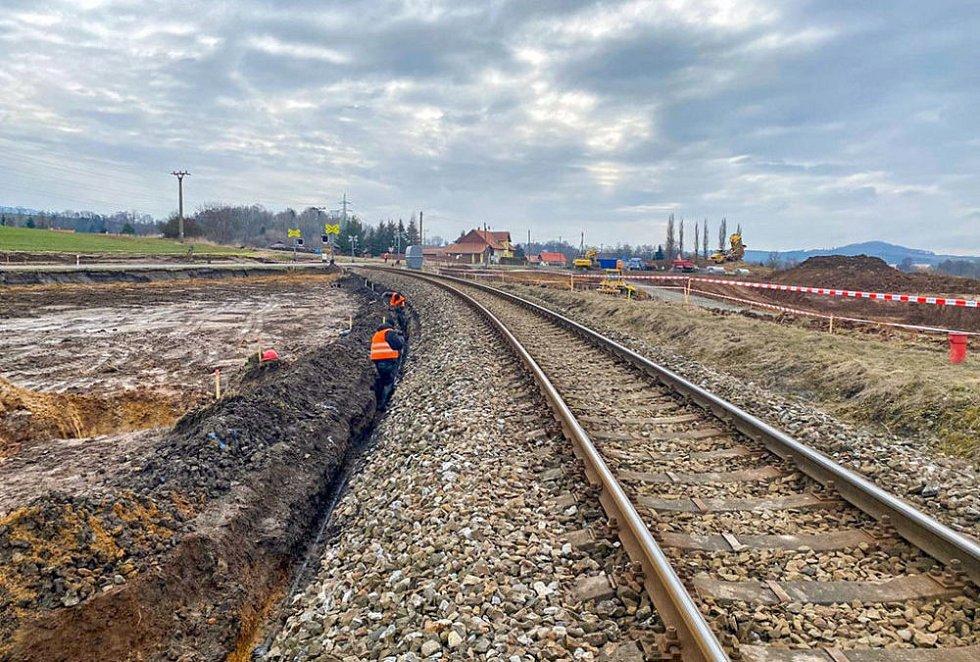 Přestavba křížení I/35 s tratí v Ktové na mimoúrovňový přejezd