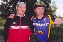 V minulých ročnících bojovali o prvenství Petr Šohaj (vlevo) a Karel Horák.