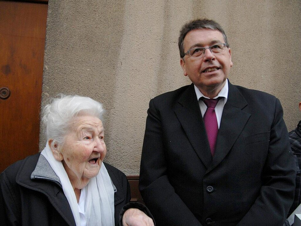 Marie Fišerová z Hořic oslavila 105 let.