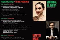 Program Italského kulturního festivalu.