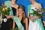 První tři vítězky - zleva Martina Kuhnová, Martina Nováková a Bára Dvorská.