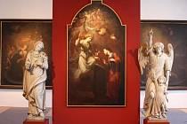 Škrétův obraz Zvěstování Panně Marii.
