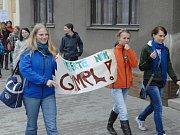Studenti hořického gymnázia.