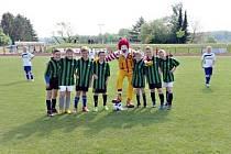Z fotbalového turnaje McDonald's Cup.