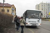 Na Husově ulici vznikne nová autobusová zastávka.