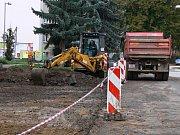 Oprava ulic na jičínských sídlištích.