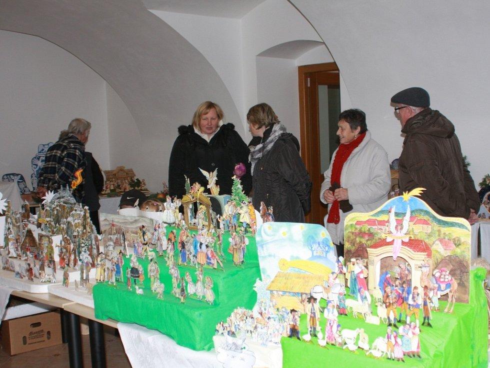 Výstava betlémů v Miletíně.