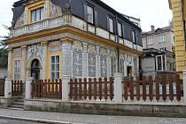 Novopacké Muzejní náměstí.