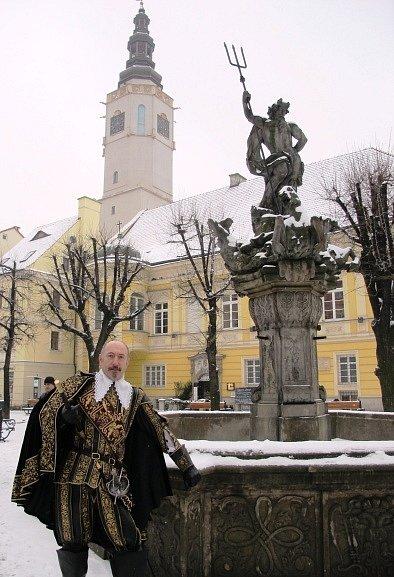 Vévoda Valdštejn ve Swidnici.