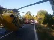 Vážná dopravní nehoda u Vidochova.