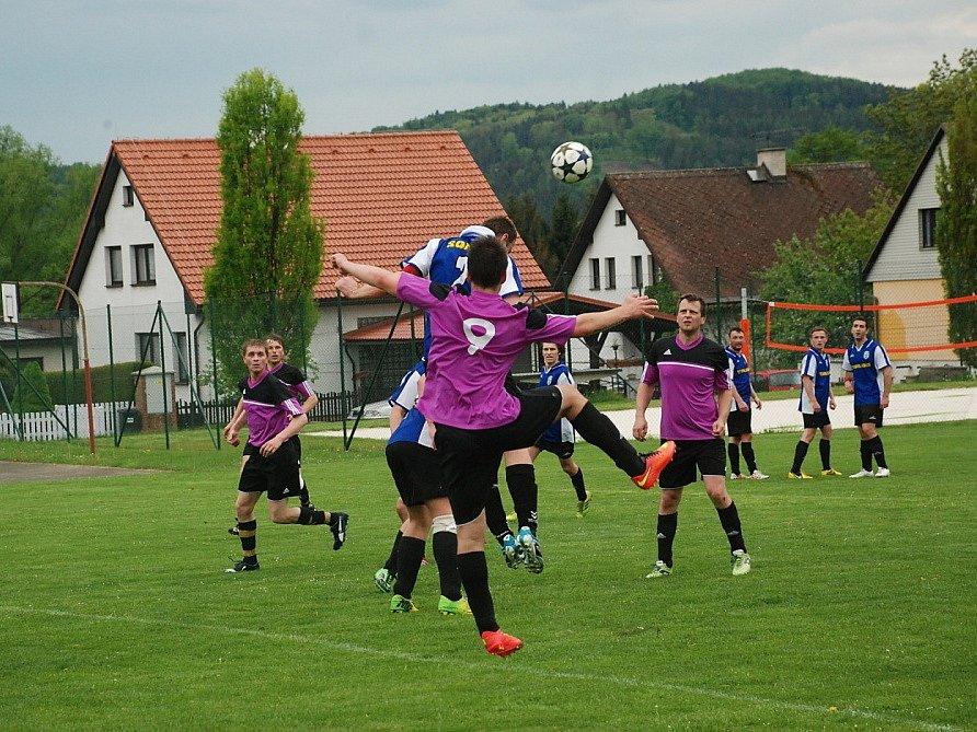 Okresní fotbal Libuň - Žlunice.