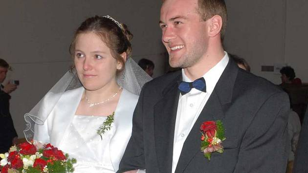Svatba Pařízkových v K-klubu.