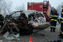 Tragická dopravní nehoda u Sobotky.