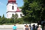 Kostel sv. Petra a Pavla v Nemyčevsi.