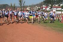 Jednatřicet běžců se vydalo na trať hlavního závodu.