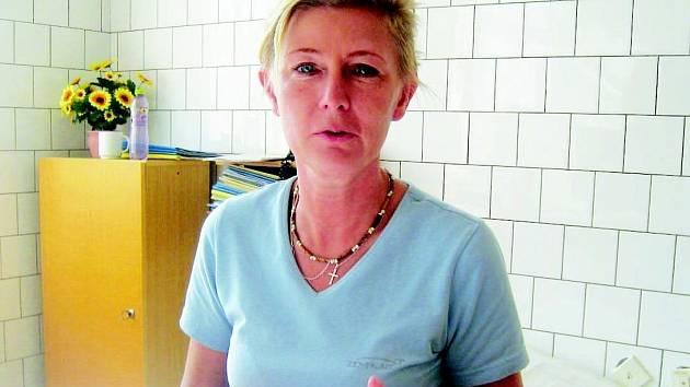 Lékařka Monika Vohradníková.