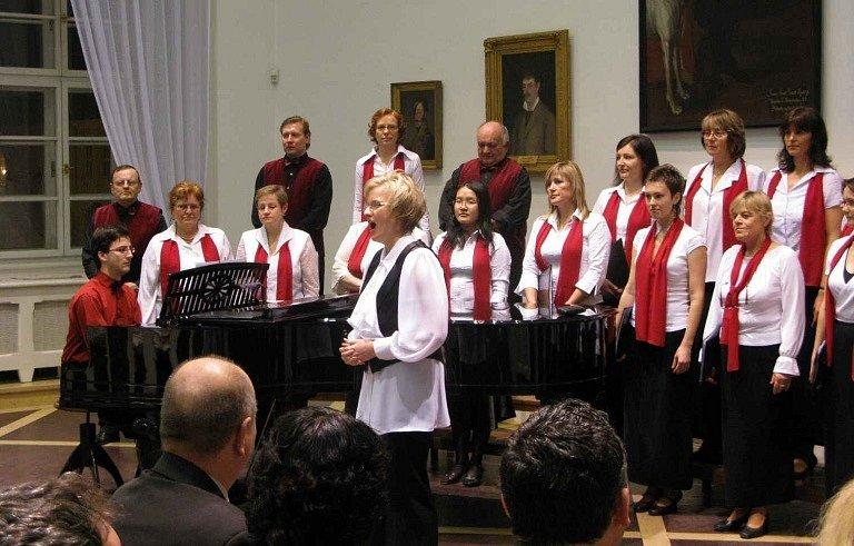 Z koncertu sboru Foerster.