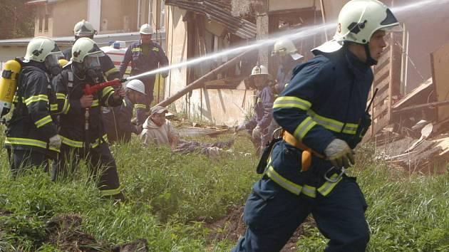 V Sobotce se uskutečnilo taktické cvičení složek integrovaného záchranného systému.
