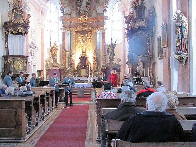 Z předvánočního koncertu v ostruženském kostele.