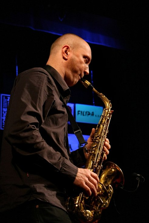 Hořické JazzNights 2013: Anima - saxofon.