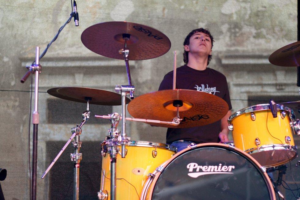 Z koncertu skupiny Post-pubescentos.