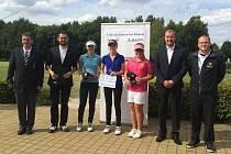 Golfový turnaj v Poděbradech byl pro jičínské barvy velmi úspěšný.
