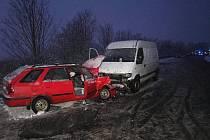 Tragická nehoda u Kopidlna.